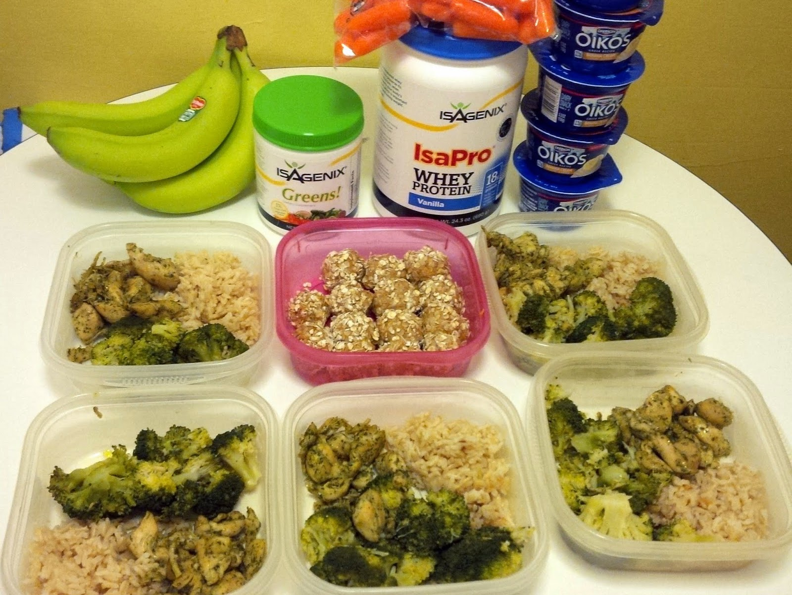 Meal prep wipes away all my excuses. #NoExcuses, no mercy!