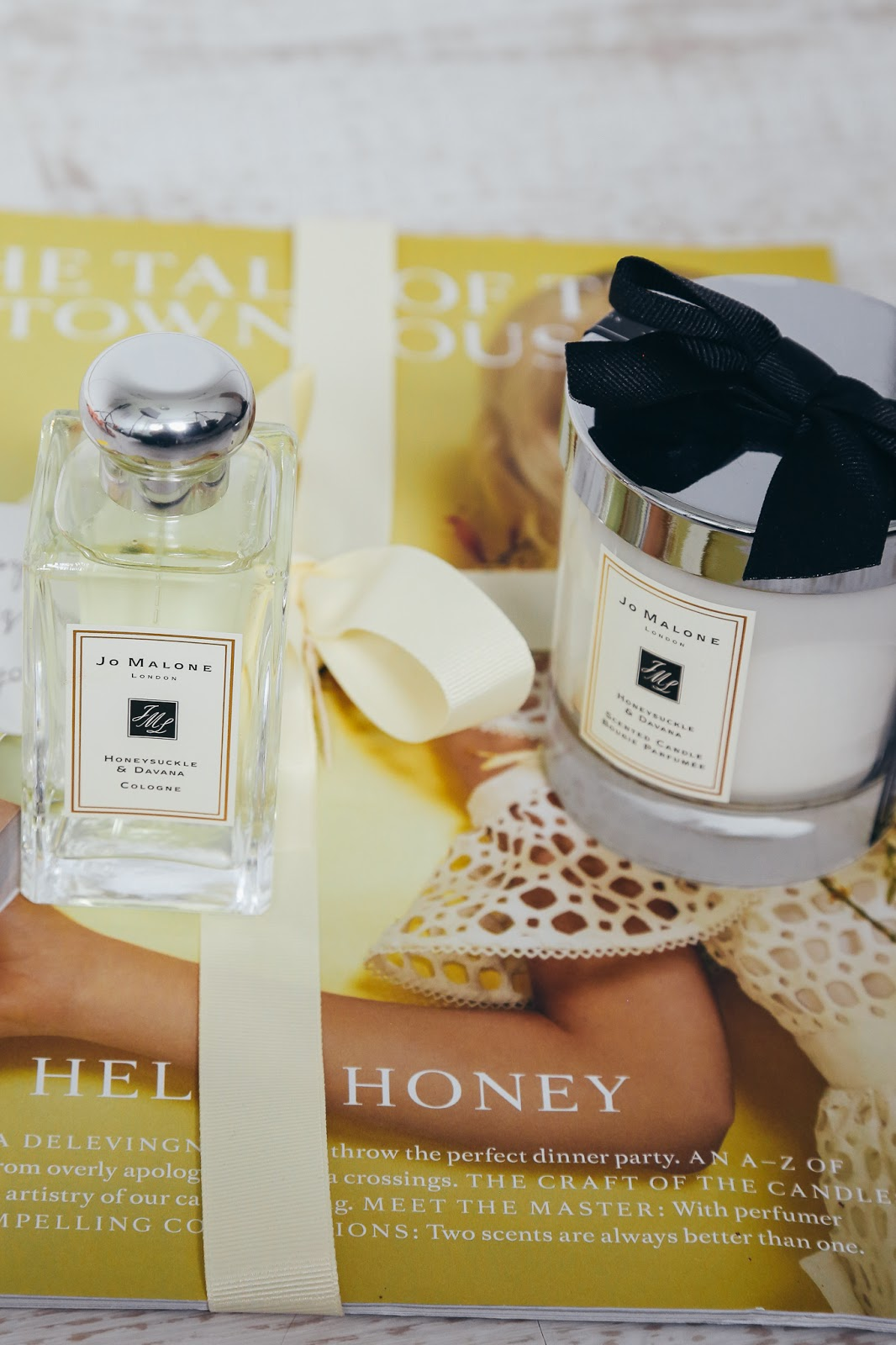 jo malone honeysucke candle
