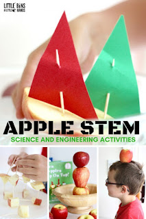 Fall Science- activities to help integrate science into your fall teaching- Fall science experiment