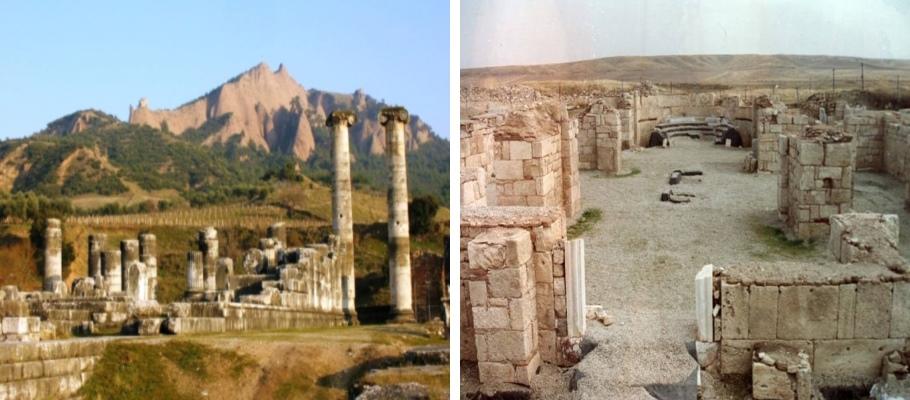 Afyon Apameia ve Amorium Antik Kentleri