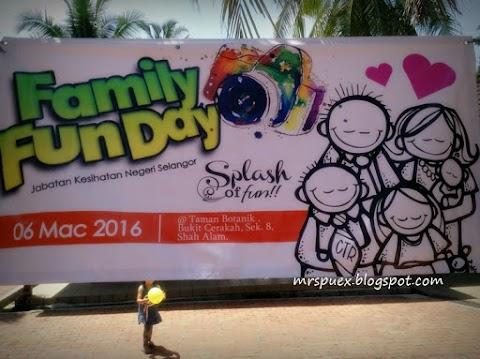 Family Fun Day Jabatan Kesihatan Negeri Selangor