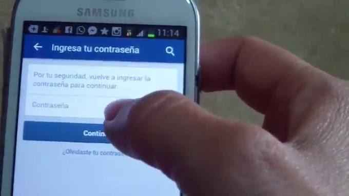 como Desactivar mi Cuenta de Facebook desde el Celular