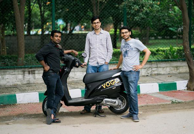 Tinuku Vogo scooter startup raised Series A led by Ola and Pawan Munjal