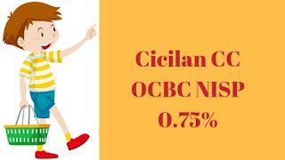 Cicilan kartu kredit OCBC NISP