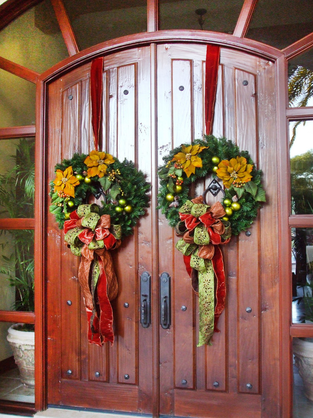 ImagineCozy: Decorating the Front Door for the Holidays