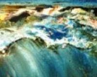 Oil painting Big wave