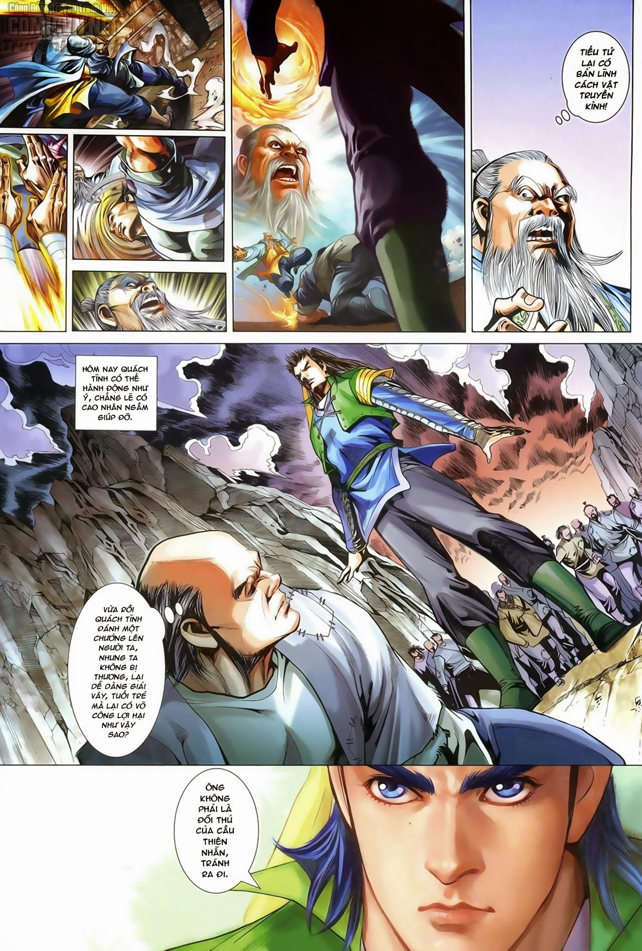 Anh Hùng Xạ Điêu anh hùng xạ đêu chap 67: quyết chiến hiên viên đài trang 3