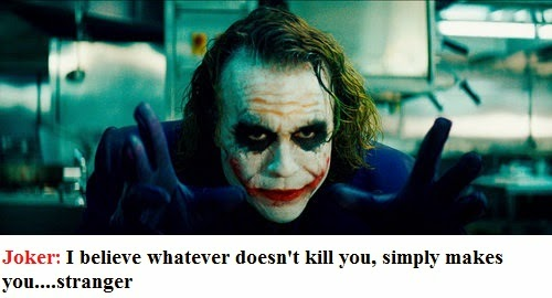 joker quote in dark night movie