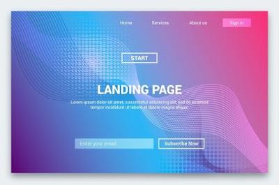 Cara Mendapatkan Landing Page Gratis atau Landing Page Harga Murah