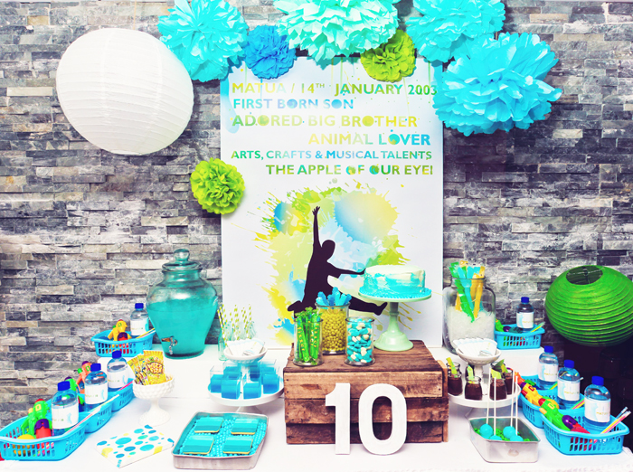 Party Inspirations Matuas 10th Birthday