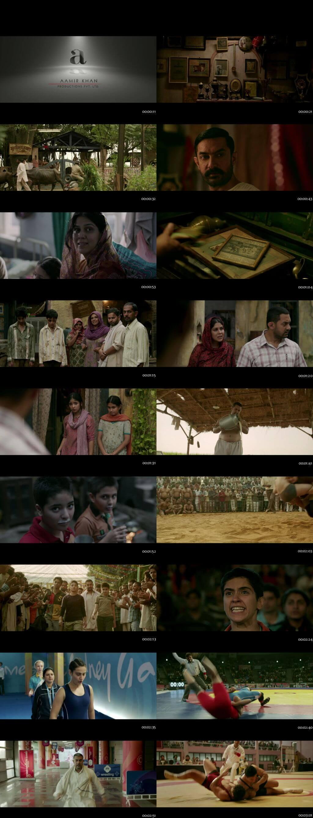 Screen Shot Of Dangal worldfree4u 300MB DVDScr Full Hindi Movie world4ufree