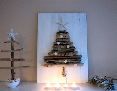 Χριστουγεννιάτικα δέντρα από απλά υλικά