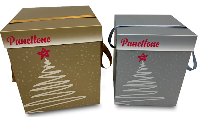 caja panettone