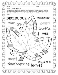 The Puzzle Den - Fall Leaf puzzles
