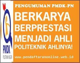 Kali ini admin akan menunjukkan gosip perihal  Pengumuman Kelulusan PMDK-PN 2019/2020
