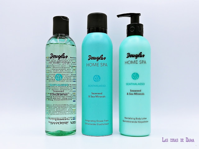 Home Spa Perfumerías Douglas Sea Thalasso baño relax corporal mar belleza beauty