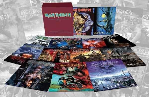 IRON MAIDEN: Επανακυκλοφορούν σε βινύλιο όλα τα albums απο το 1990 και μετά