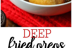 DEEP FRIED OREOS RECIPE