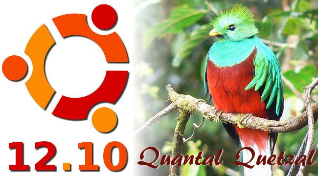 """Ubuntu 12.10 """"Quantal Quetzal"""""""
