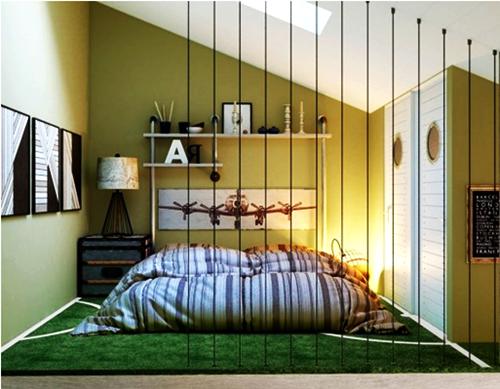 Model Rumah Contoh Desain Kamar Tidur Lesehan Dengan Ukuran Kecil