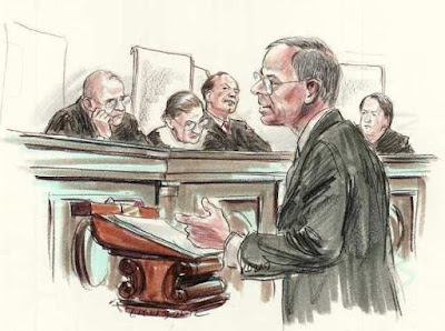 luật sư diễn án hành chính