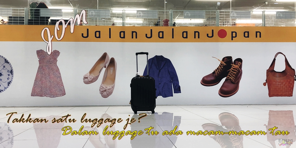 Jalan-Jalan Japan, Preloved, M3 Shopping Mall, Taman Melati, Fashion on a dime, preloved from Japan, Rawlins GLAM
