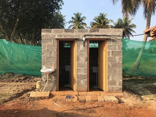 Inteyoga Ashram toilets