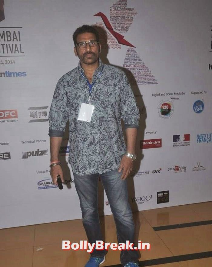 Mukesh Rushi, Photos from Opening Ceremony of MAMI 2014