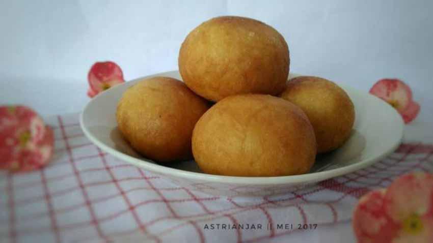 Resep Membuat Roti Goreng Isi Kacang Hijau by 🌷Astrie Anjar🌷