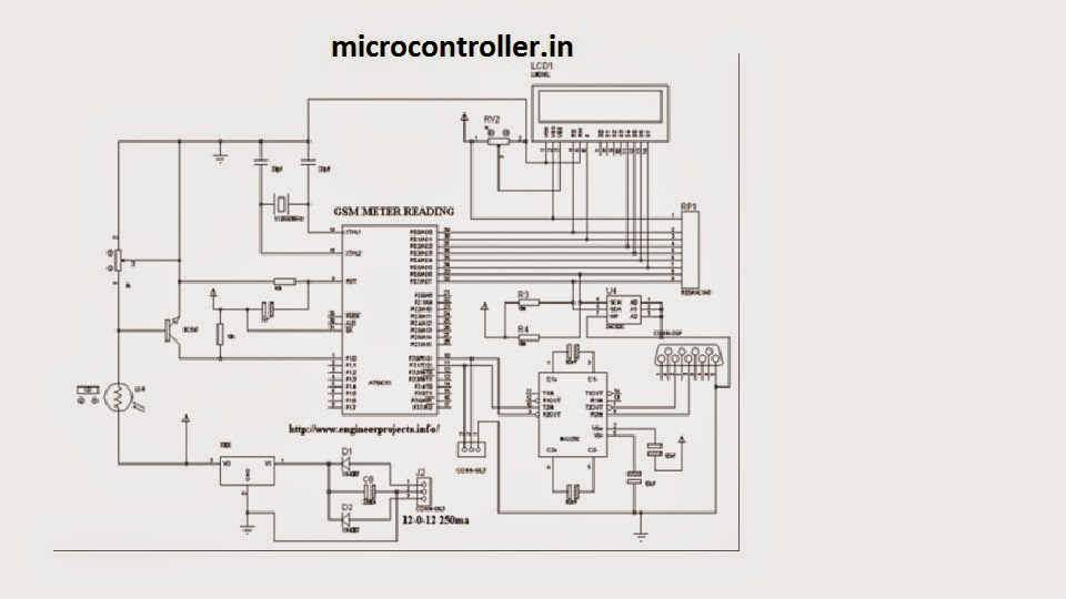microcontroller in gsm based automatic meter reading