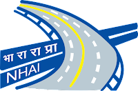 Indian National Highway Authority (NHAI), NHAI Logo, NHAI Recruitment,  NHAI - Deputy General Manager and Manager Recruitment 2019.