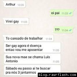 9. Pai que virou gay