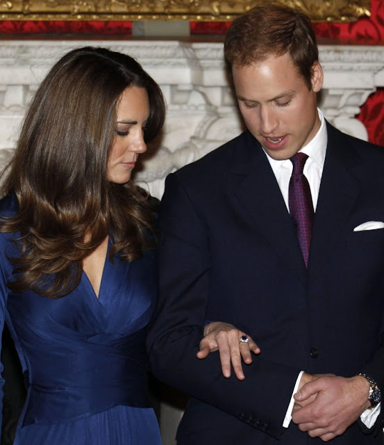 Prince William, married with Kate Middleton, wedding dress, diamond rings