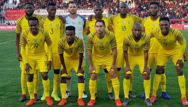 Bafana Bafana's star performers will each pocket R60 000