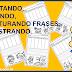 FORMANDO FRASES COM RECORTE E COLAGEM - 1º ANO/ 2º ANO