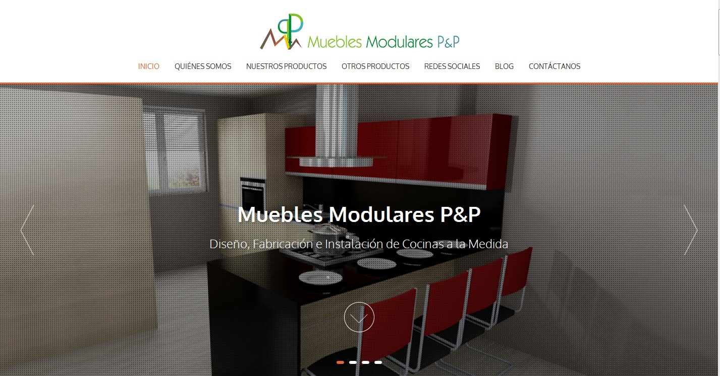 Muebles modulares p p for Paginas muebles
