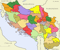 Kingdom of Serbs, Croats, and Slovenes 1922-29 Administratively divided into 33 oblasts