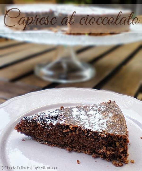 Caprese al cioccolato