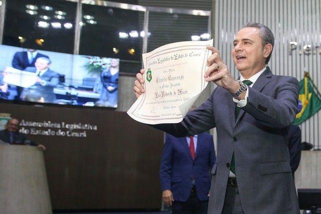 Luís Roberto Da Globo Recebe Título De Cidadão Cearense