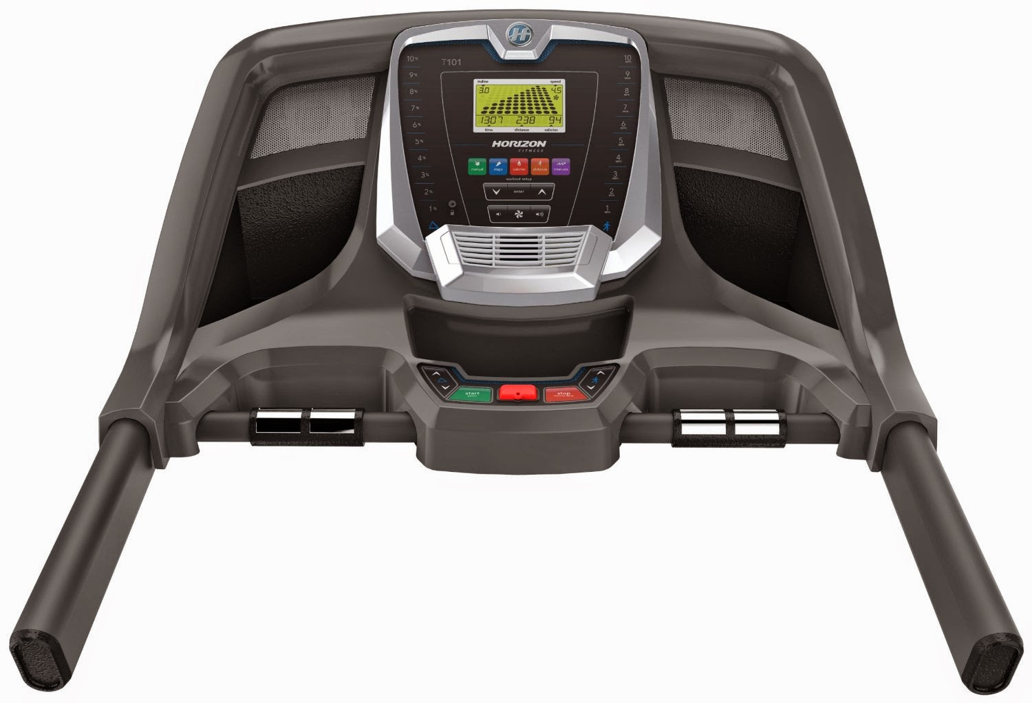 Horizon Fitness T101-04 Treadmill  Console with 30 workout programs