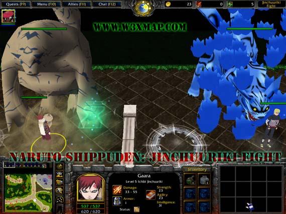 Naruto: Anbu Battle [Beta II] +AI WarCraft 3 Map | WarCraft