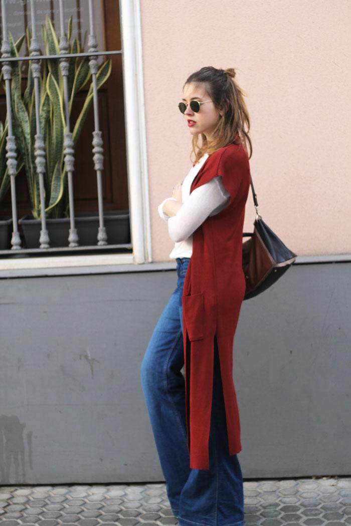 maxi waistcoat