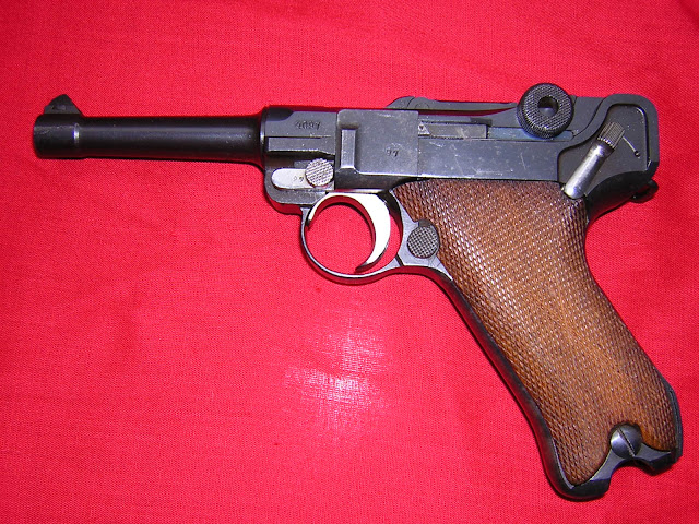 pistola Luger P08 airsoft