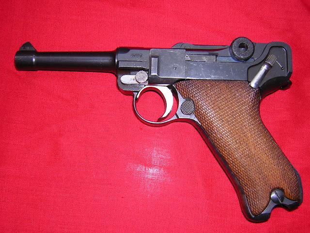 pistola Luger P08 airsoft
