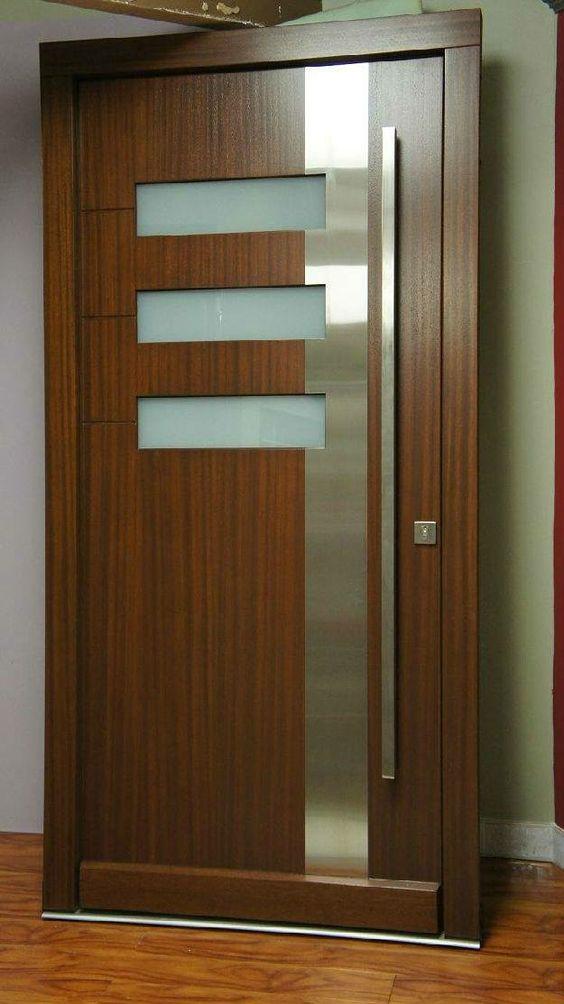 20 Modern Solid Wooden Interior Doors - Decor Units