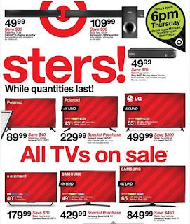 US Black Friday Flyer Target US - Black Friday Sale November 23 – 25, 2017