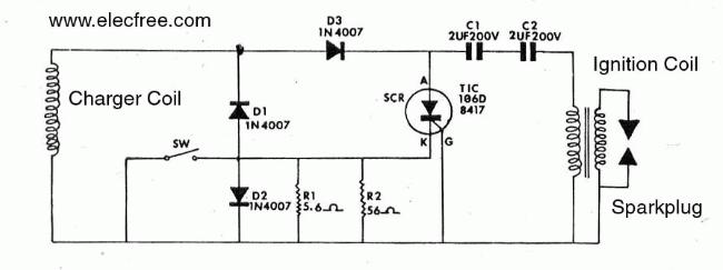 Pengapian CDI (Capacitor Discharge Ignition)