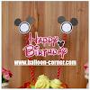 Topper Kue HAPPY BIRTHDAY Motif DISNEY