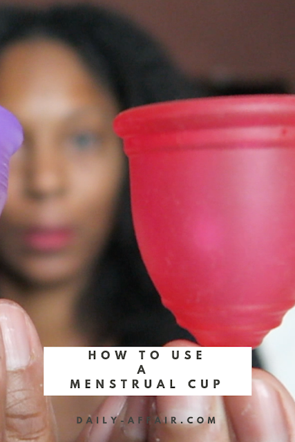 A how to on menstrual cups and how to clean