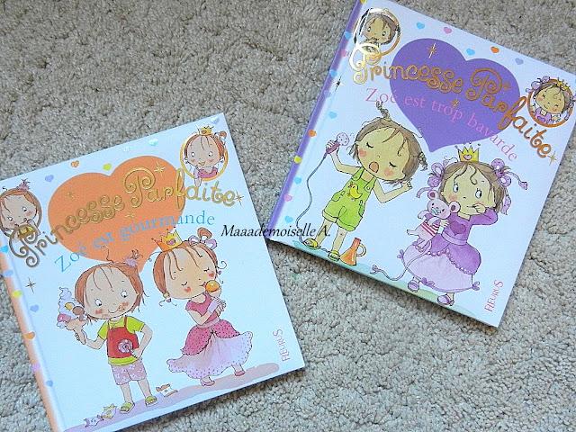 || Princesse Parfaite : Zoé est gourmande et Zoé est trop bavarde (Présentation & Avis)(Chut, les enfants lisent #34)